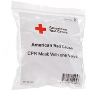 American Red Cross CPR Mask without Oxygen Inlet - No Case