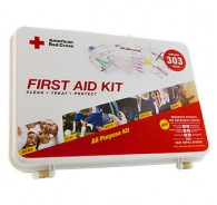 American Red Cross First Aid Kit 303 Hard Case