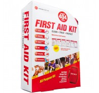 404 Piece Soft Sided First Aid Kit