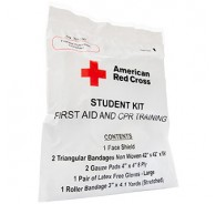 American Red Cross Frst Aid & CPR Combo Train Pack