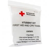 American Red Cross Frst Aid & CPR Combo Train Pack - No Splinting