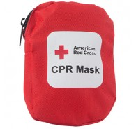 American Red Cross CPR Mask without Oxygen Inlet - Soft Case