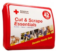 American Red Cross Cut & Scrapes Essentials First Aid Kit