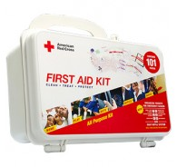 American Red Cross First Aid Kit 101 Hard Case