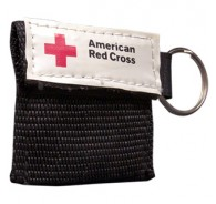 American Red Cross Mini CPR Keychain - Black