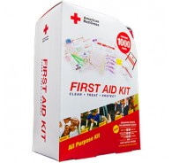 American Red Cross First Aid Kit 1000 Soft Case