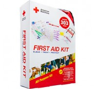 American Red Cross First Aid Kit 303 Soft Case