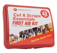 42 Piece Hard Sided First Aid Kit