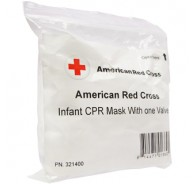 American Red Cross Infant CPR Mask without Oxygen Inlet- No Case